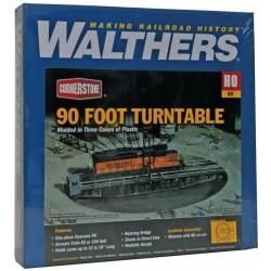 HO Pont tournant américain Walthers Cornerstone de 31cm