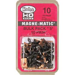 n°5 Bulk Pack/10 paires de Kadee 05 sans les boitiers plastique