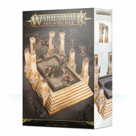 AOS / DIMINIONS OF SIGMAR : Shattered Temple