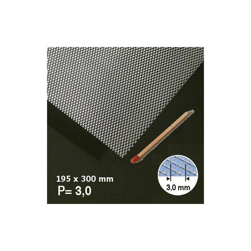 Métal déployé aluminium 3mm