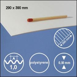 Tôle ondulée polystyrène 1,0mm