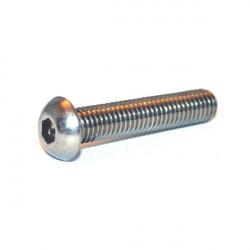 Vis acier galva avec épaulement ISO7380 M3x6 par 10 pièces
