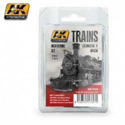 AK7000 TRAINS Locomotive & Wagon