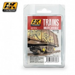 AK7010 TRAINS Undercarriage Weathering Set