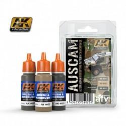AK4020 AFV AUSCAM (Acrylic Paint Set)