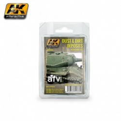 AK 4060 Dust and Dirt Deposits (Weathering Set)
