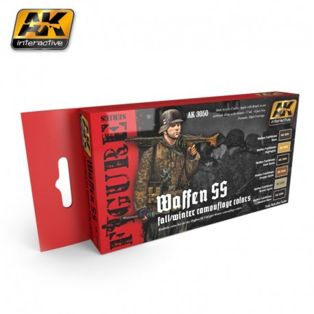 AK 3050 Waffen SS fall/winter camouflage colors