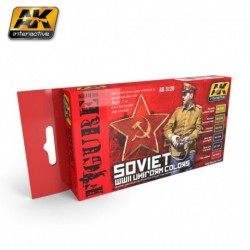 AK 3120 SOVIET WWII Uniform colors