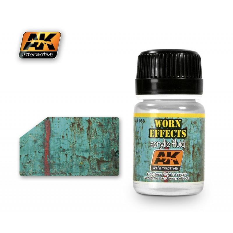 AK088 Worn Effects (acrylic fluid)