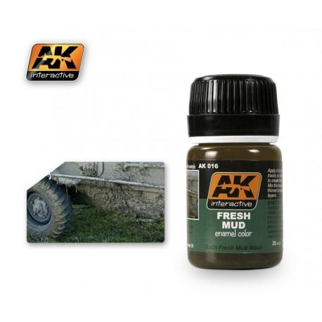 AK016 Fresh Mud (enamel color)