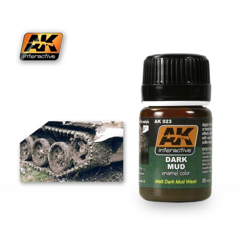 AK023 Dark Mud (enamel color)