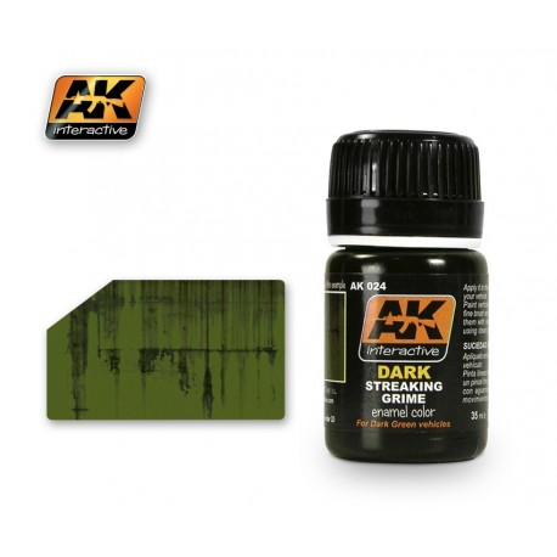 AK024 Dark Streaking Grime (enamel color)
