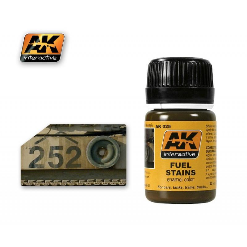 AK025 Fuel Stains (enamel color)