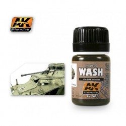AK066 enamel Afrika Korps Wash for DAK vehicules