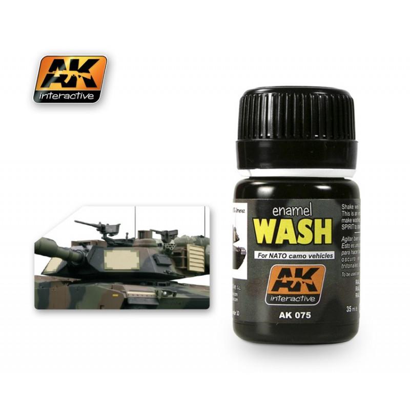 AK075 enamel WASH For NATO camo vehicles