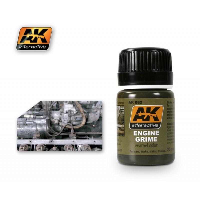 AK082 Engine Grime (enamel color)