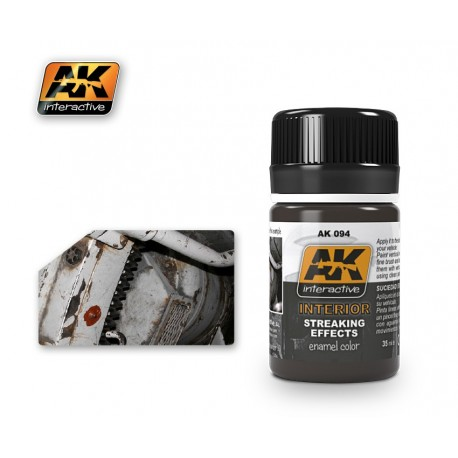 AK094 INTERIOR Streaking Effects (enamel color)