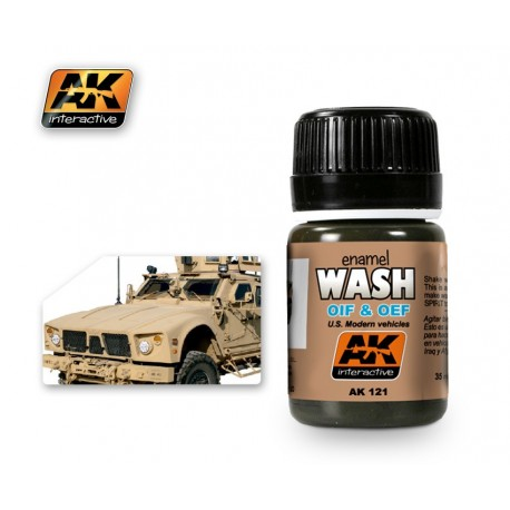 AK121 OIL & OEF U.S. Modern vehicles (enamel WASH)