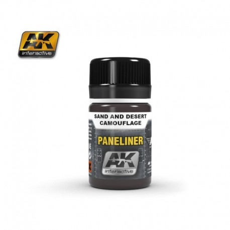 AK2073 PANELINER Sand and Desert Camouflage