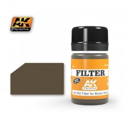 AK 262 FILTER Filter for Brown Wood