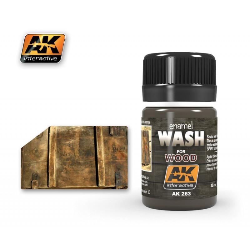 AK263 enamel WASH For WOOD