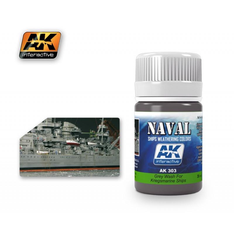 AK303 NAVAL Grey Wash For Kriegsmarine Ships