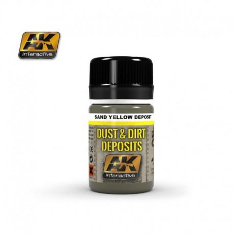 AK 4061 DUST & DIRT DEPOSITS Sand Yellow Deposit