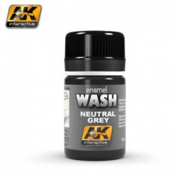 AK 677 NEUTRAL GREY WASH (enamel color)