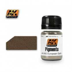 AK042 Pigments European Earth