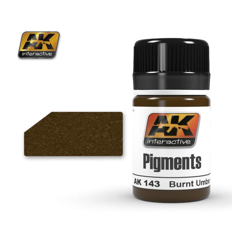 AK143 Pigment Burnt Umber
