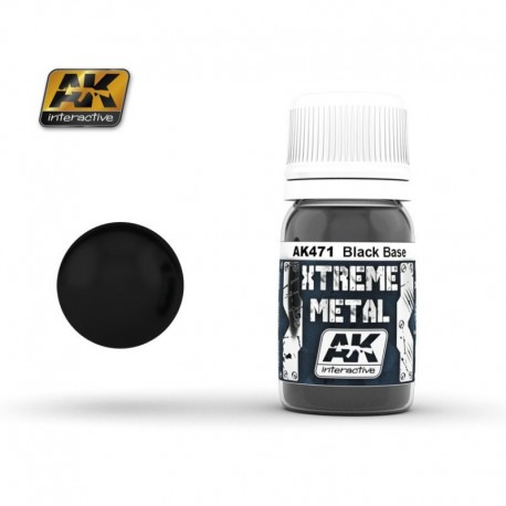 XTREME Metal Black Base 30 ml