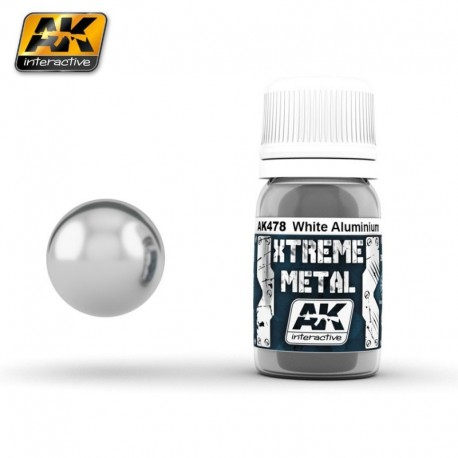 XTREME Metal White Aluminium 30 ml
