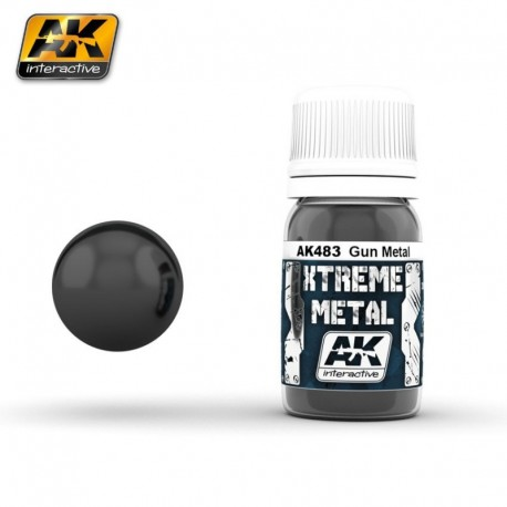 XTREME Metal Gun Metal 30 ml