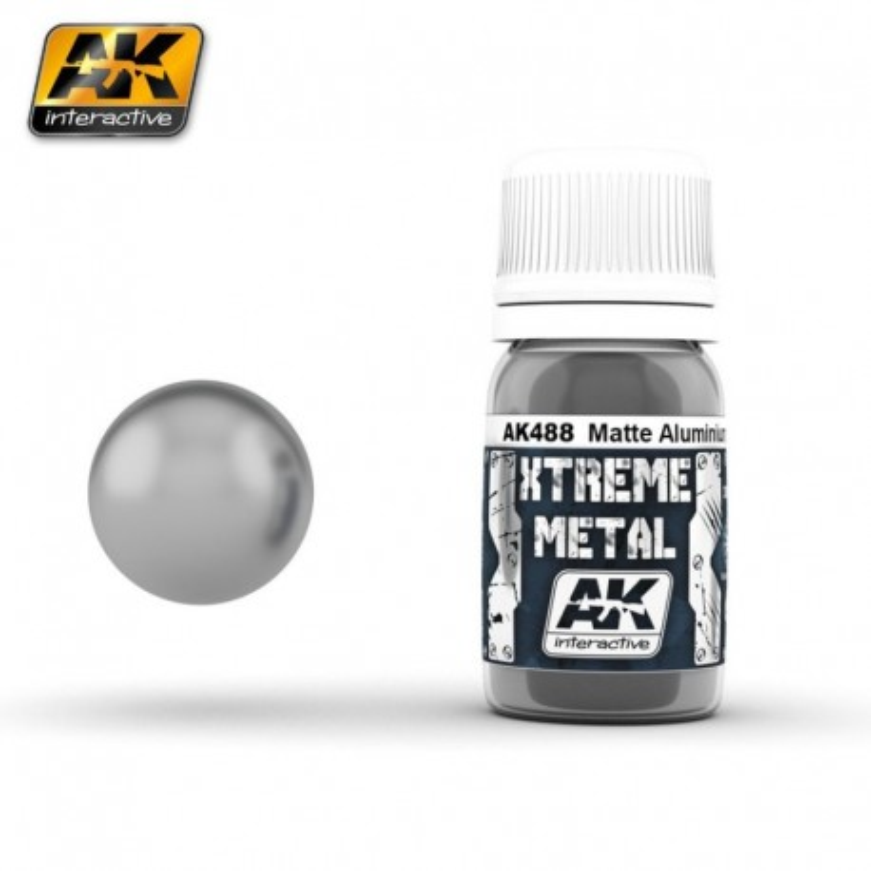 XTREME Metal Matte Aluminium 30 ml