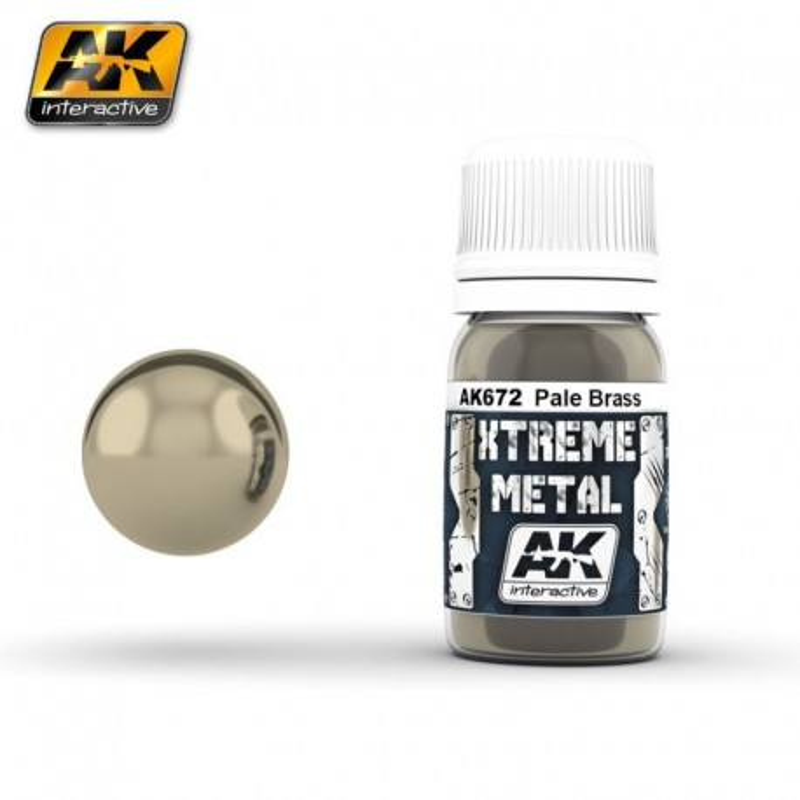 XTREME Metal Pale Brass 30 ml