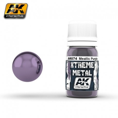 XTREME Metal Metallic Purple 30 ml
