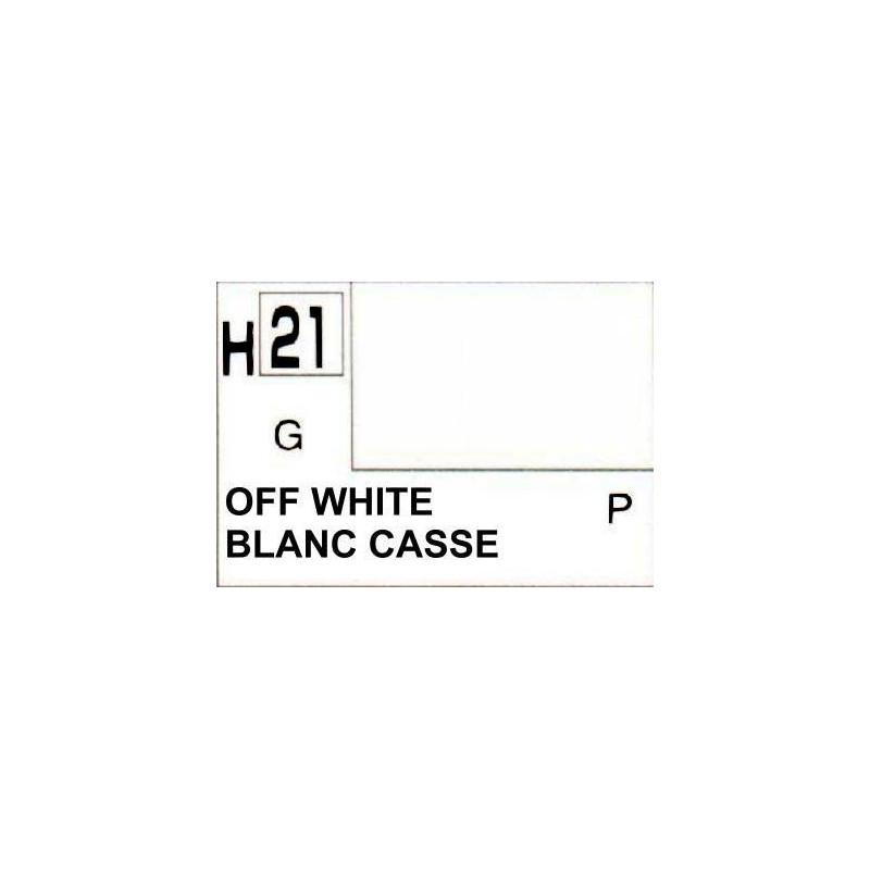 GUNZE H021 BLANC CASSE BRILLANT