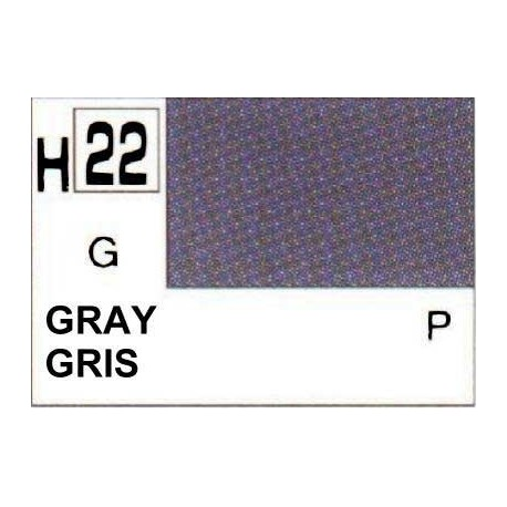 GUNZE H022 GRIS BRILLANT