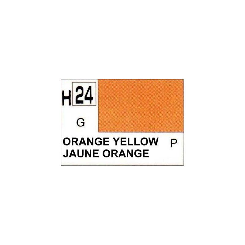 GUNZE H024 JAUNE ORANGE BRILLANT