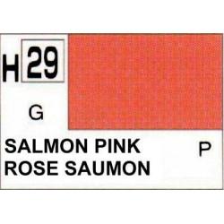 GUNZE H029 ROSE SAUMON BRILLANT