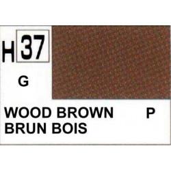 GUNZE H037 BRUN BOIS BRILLANT