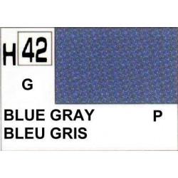 GUNZE H042 GRIS BLEU BRILLANT