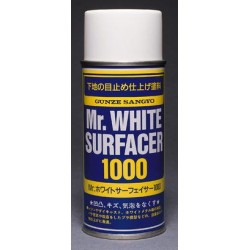 GUNZE B511 Mr WHITE SURFACER 1000 SPRAY