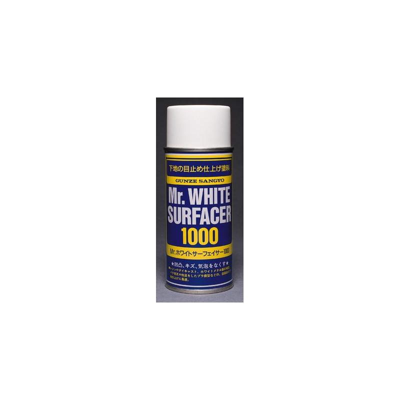 GUNZE B511 Mr WHITE SURFACER 1000 SPRAY