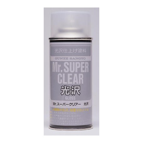 GUNZE B513 Mr SUPER CLEAR VERNIS BRILLANT SPRAY