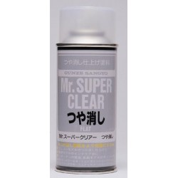 GUNZE B514 Mr SUPER CLEAR VERNIS MAT SPRAY
