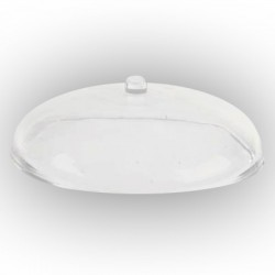 Dôme elliptique transparent VHE-18. 5 pièces
