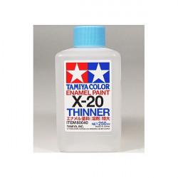 X-20 Diluant pour peinture glycéro 250ml Enamel