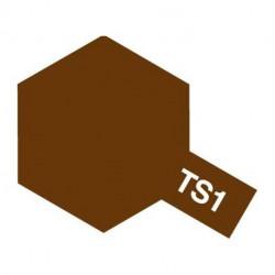 TS1 ROUGE BRUN MAT