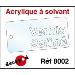 Vernis satiné 30ml